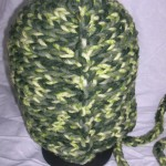 Forest Hoodie Hat (Adult) back