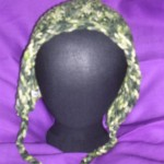 Forest Hoodie Hat (child) front