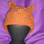 Orange Checkered Hat
