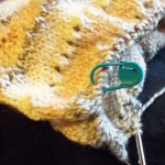 Hat for a Knitter&#039;s trade in progress 4