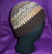 Warm colors Crochet Hat