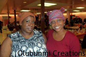 Olubunmi Creations Checkered Hats
