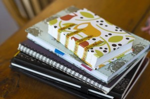 Journals Stacked